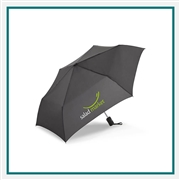 ShedRain RainEssentials Auto Open Close Compact Umbrella Custom Printed,