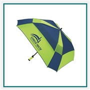 ShedRain WindPro Vented Auto Open Square Umbrella Custom Printed