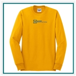 JERZEES Heavyweight Blend 50/50 Long Sleeve T-Shirt 29LS with Custom Embroidery, Custom Embroidered JERZEES T-Shirts, JERZEES 29LS T-Shirt Best Price