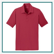 Port Authority Men's Cotton Touch Performance Polo with Custom Embroidery, Port Authority Custom Polos, Port Authority Custom Logo Apparel