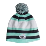 AHEAD Exeter Beanie With Pom Custom Embroidery Logo