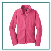 Port Authority Ladies Value Fleece Jacket with Custom Embroidery, Port Authority Custom Fleece Jackets, Port Authority Custom Logo Gear