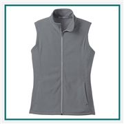 Port Authority Women's Microfleece Vest with Custom Embroidery, Port Authority Custom Vests, Port Authority Custom Logo Gear