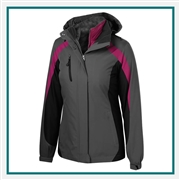 Port Authority Colorblock 3-in-1 Jacket Embroidery