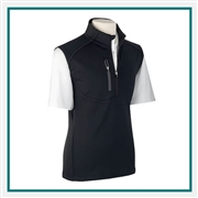Zero Restriction Men's Z500 1/4 Zip Vest L386 with Custom Embroidery, Zero Restriction Custom Vests, Zero Restriction Custom Logo Gear