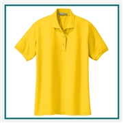 Port Authority Ladies Silk Touch Polo Custom Embroidered