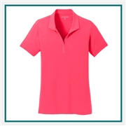 Port Authority Ladies Cotton Touch Performance Polo Custom Embroidered