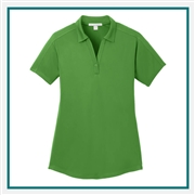 Port Authority Ladies Diamond Jacquard Polo with Custom Embroidery, Port Authority Custom Polos, Port Authority Custom Logo Gear