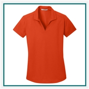 Port Authority Ladies Dry Zone Grid Polo Custom Embroidered