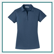 Port Authority Ladies Crossover Raglan Polo Custom Embroidery