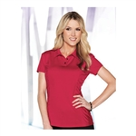 Lilac Bloom Natalie Polo Shirt Custom Embroidered