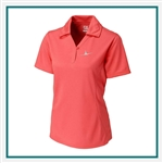 Cutter & Buck Ladies Genre Polo Custom Embroidered