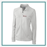 Cutter & Buck Women's CB DryTec Edge Full Zip Jacket with Custom Embroidery, Cutter & Buck Custom Jackets, Cutter & Buck Corporate Logo Gear
