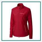 Cutter & Buck Women's CB WeatherTec Beacon Full Zip Jacket with Custom Embroidery, Cutter & Buck Custom Jackets, Cutter & Buck Corporate Logo Gear