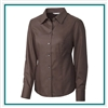 Cutter & Buck W L/S Epic Easy Care Nailshead Shirt Custom Embroidered