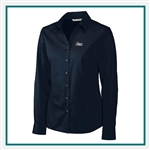 Cutter & Buck W L/S Epic Easy Care Fine Twill Shirt Custom Embroidery