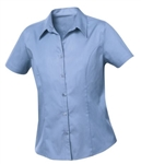 Clique Ladies' S/S Caitlin Twill Shirt LNW00004 Custom Embroidered