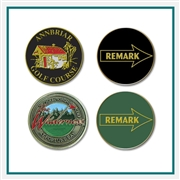 Remark Ball Marker with Custom Logo