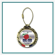 "2 3/4"" Color Magic Bag Tag with Printed Logo, Golf Tournament  Gifts, Golf Corporate Gifts"