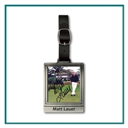 "2 3/4"" Color Magic Rectangular Bag Tag,  bag Tag with Custom Logo, Golf Tournament  Gifts, Golf Gifts"