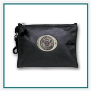 Zippered Valuables Pouch Custom Logo