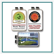 ColorMagic Die Struck Rectangular Money Clip Custom Logo Money Clip, Promotional Divot Tools, Custom Logo Money Clips, Custom Ball marker, Custom Money Clips, Personalized golf tournament gifts