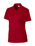 Clique Ladies Lady Malmo Pique Polo LQK00043 Custom Embroidered