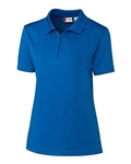 Clique Ladies' Malmo Snag Proof Zip Polo LQK00056 Custom Embroidery