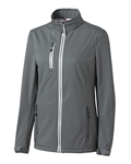 Clique Ladies' Telemark Softshell Jacket LQO00041 Custom Embroidered