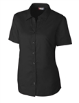 Clique Ladies' Avesta Stain Resistant Twill Shirt LQW00008 Custom Embroidered