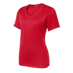 Sport-Tek Ladies PosiCharge Elevate Scoop Neck Tee LST380, Sport-Tek Promotional Tees, Sport-Tek Custom Logo
