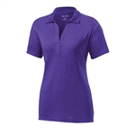 Sport-Tek Ladies Heather Contender Polo LST660, Sport-Tek Promotional Polos, Sport-Tek Custom Logo