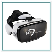 Virtual Reality Headset with Headphones 7140-90 Custom Silkscreened