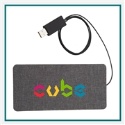 Ultra Thin Fabric Wireless Charging Pad 7141-83 Custom Printed