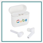 Essos True Wireless Auto Pair Earbuds w/Case 7197-22 Custom Silkscreened