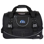"High Sierra 22"" Carry-On Rolling Duffel Bag Embroidered, High Sierra Promotional Duffel Bags, High Sierra Custom Logo"