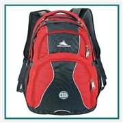 "High Sierra  Swerve 17"" Computer Backpack 8050-37 , High Sierra Promotional Backpacks, High Sierra Custom Logo"