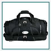 "High Sierra  Colossus 26"" Drop Bottom Duffel Bag 8050-63, High Sierra Promotional Duffels, High Sierra Custom Logo"