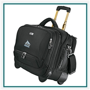 High Sierra Integral Wheeled Computer Briefcase 8050-75 Custom Logo