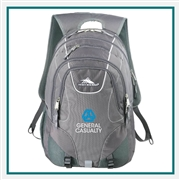 "High Sierra  Vortex Fly-By 17"" Computer Backpack 8051-19, High Sierra Promotional Backpacks, High Sierra Custom Logo"