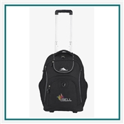 High Sierra Powerglide Wheeled Computer Backpack Custom Logo