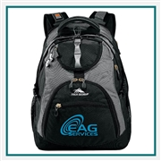 "High Sierra  Access 17"" Computer Backpack 8051-68, High Sierra Promotional Backpacks, High Sierra Custom Logo"