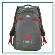 "High Sierra  Fallout 17"" Computer Backpack 8051-73, High Sierra Promotional Backpacks, High Sierra Custom Logo"