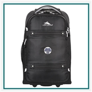 "High Sierra  Composite 21"" Carry-On Custom Embroidered, High Sierra Co-Branded Carry Ons, High Sierra Corporate Gifts"