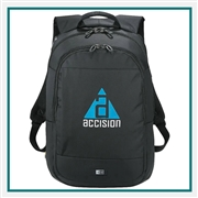 "Case Logic 15.6"" Computer Backpack Custom Logo"
