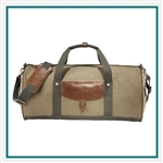 "Cutter & Buck Legacy 22"" Cotton Roll Duffel Bag Personalized"