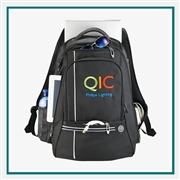 "Cutter & Buck Tour TSA 17"" Computer Backpack Custom Logo"