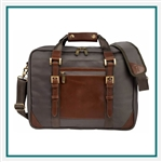 "Cutter & Buck Bainbridge 15"" Computer Briefcase Custom Logo"