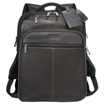 Kenneth Cole Colombian Leather TSA Compu-Backpack 9950-58, Kenneth Cole  Promotional Backpacks, Kenneth Cole  Custom Logo