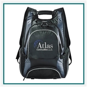 Elleven Drive Compu-Backpack 0011-35 Custom Embroidery